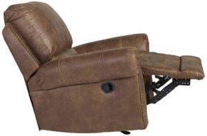 Ashley Furniture Signature Design - Larkin Hurst Rocker Recliner – Manual Reclining Chair
