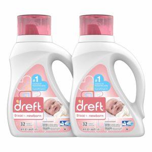 Dreft Stage 1: Hypoallergenic Liquid Baby Laundry Detergent