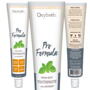 Oxyfresh Pro Formula Toothpaste