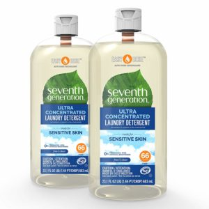 Seventh Generation Laundry Detergent, Ultra-Concentrated Lavender
