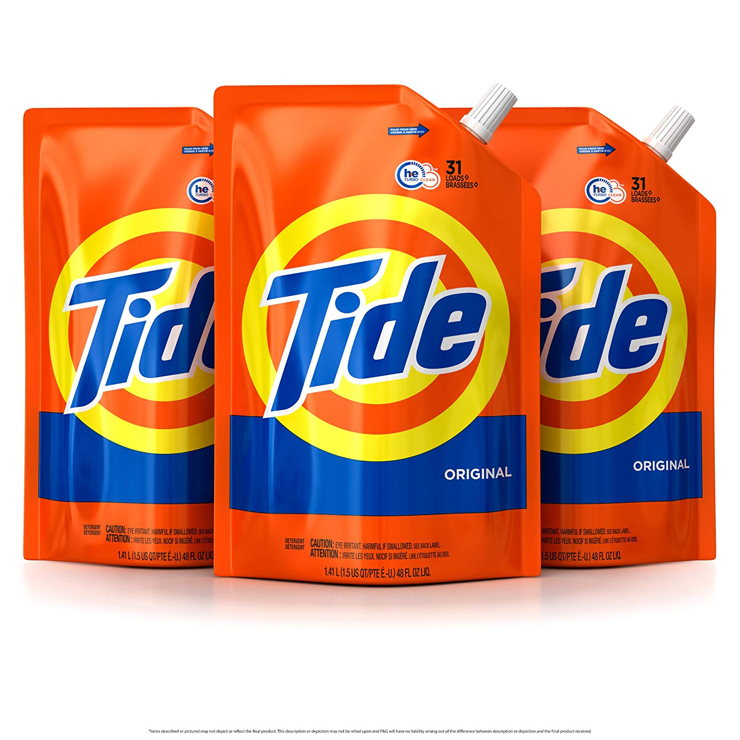Tide best smelling laundry detergent