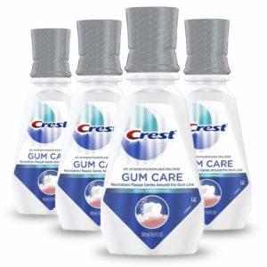 crest mouthwash for bleeding gums