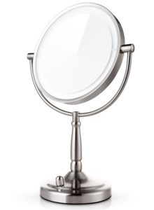 Miusco 7X Magnifying Lighted Makeup Mirror