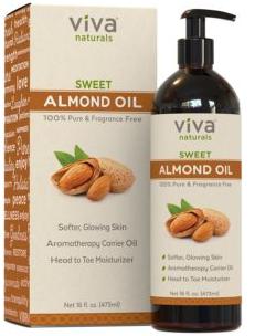 viva natural almond oil