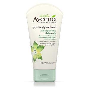best exfoliator for acne prone skin - aveeno exfoliating body scrub