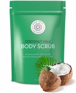 pure body coconut milk scrub