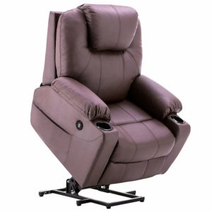 mcombo electric power recliner - best recliner for sleeping after shoulder surgery