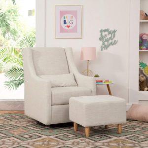 Babyletto Upholstered Swivel Chair for Nursery