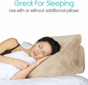 Xtra Bed Wedge Pillow for sleeping after Shoulder Surgery