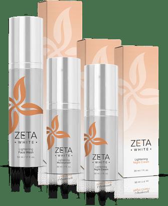 meladerm vs zeta white skin whitening cream, soap