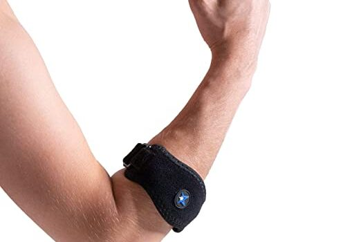 RiptGear Tennis Elbow Brace with Compression Pad