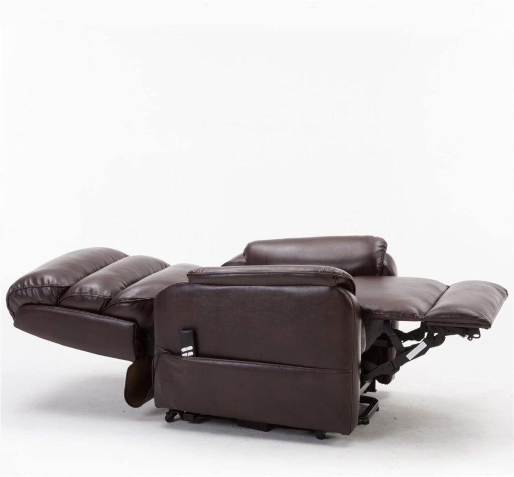 Irene House Infinite position power lay flat recliner