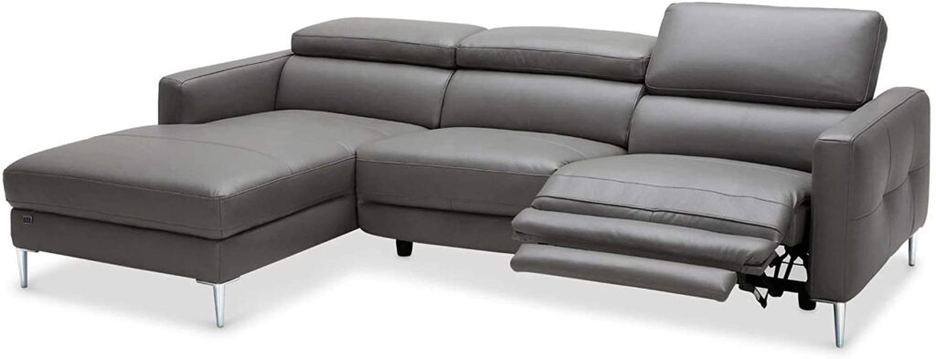 Zuri reclining sectional couch