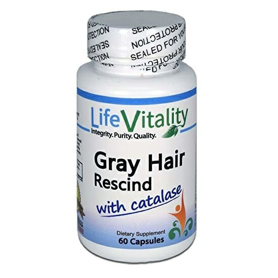 My grey hair reversal story cannot be complete without life vitality gray hair rescind