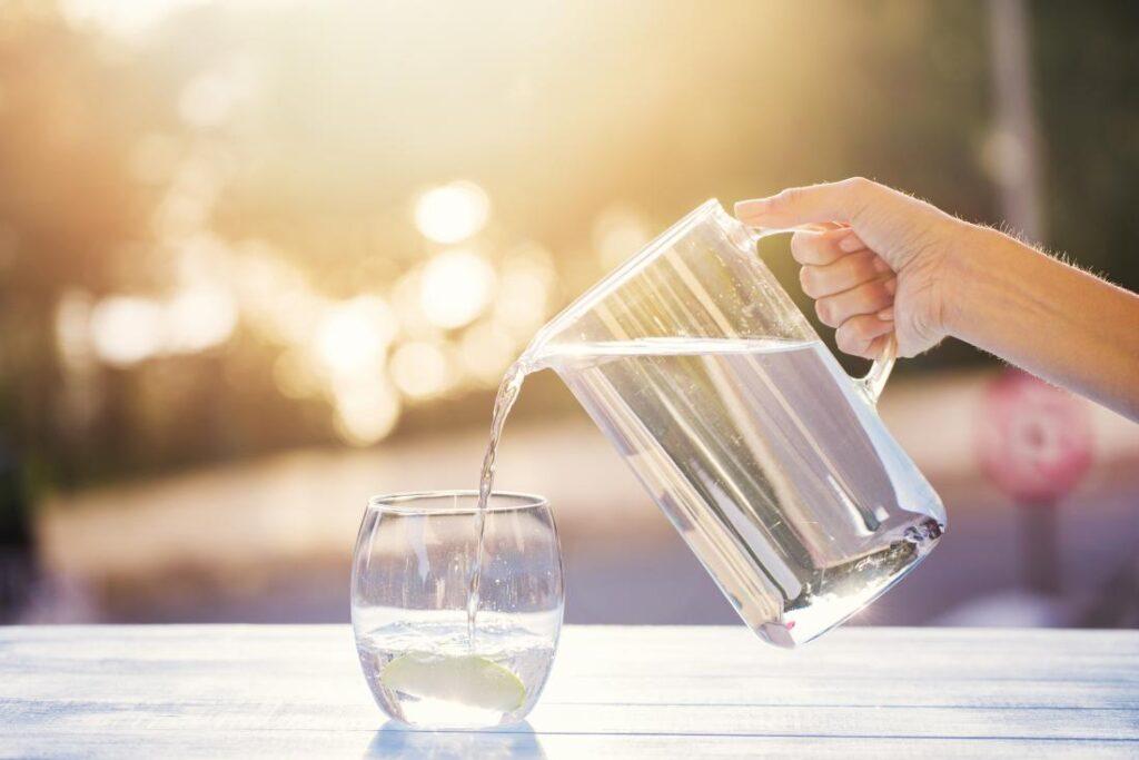 drink water to get rid of brain fog